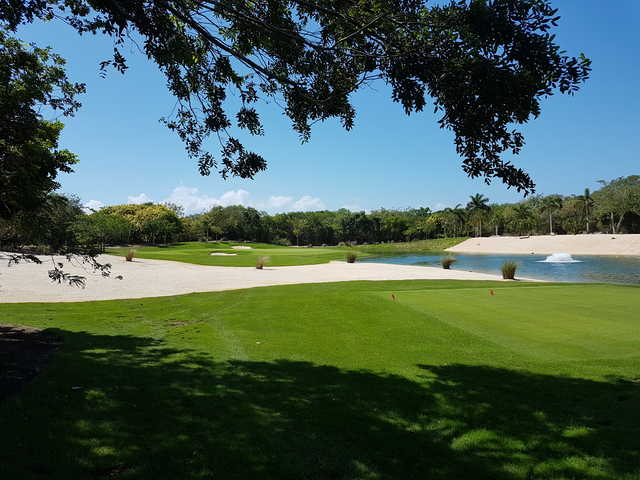 View from the 5th tee at Gran Coyote Golf Riviera Maya
