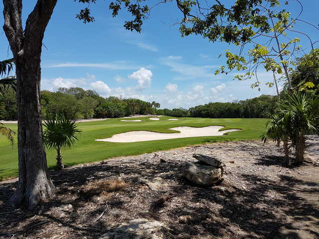 View from the 15th green at Gran Coyote Golf Riviera Maya
