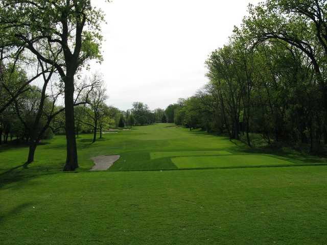 A view from a tee at Winnetka Golf Club.
