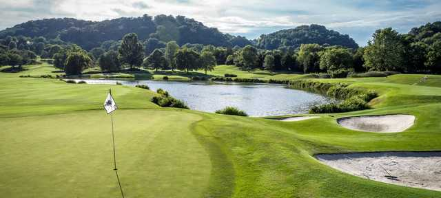 A view of hole #15 at Richland Country Club.