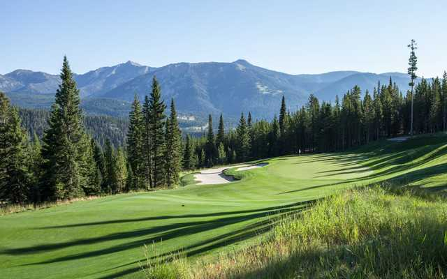 A view of hole #4 at Spanish Peaks Mountain Club.