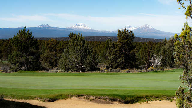 Cascade Mountain view from Nicklaus Course at Pronghorn