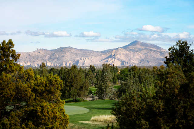 Smith Rock view from the Nicklaus Course at Pronghorn