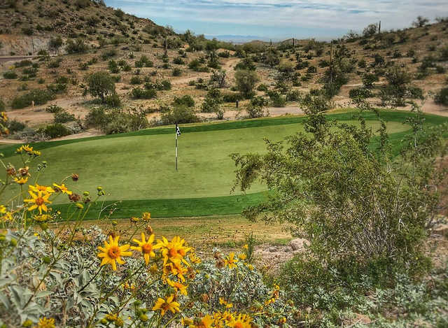 A view of a hole at Golf Club of Estrella.