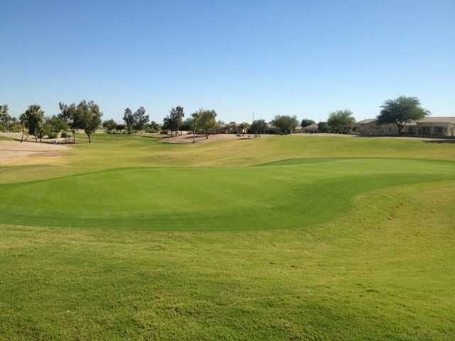A view of the 8th hole at Lone Tree Golf Club.