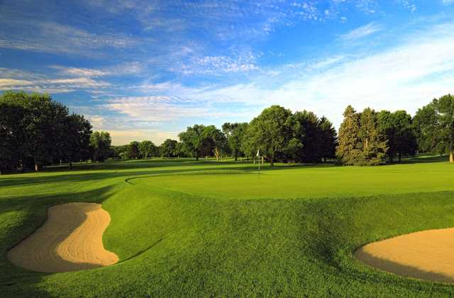 A view of the 6th hole at Blue Mound Golf & Country Club.