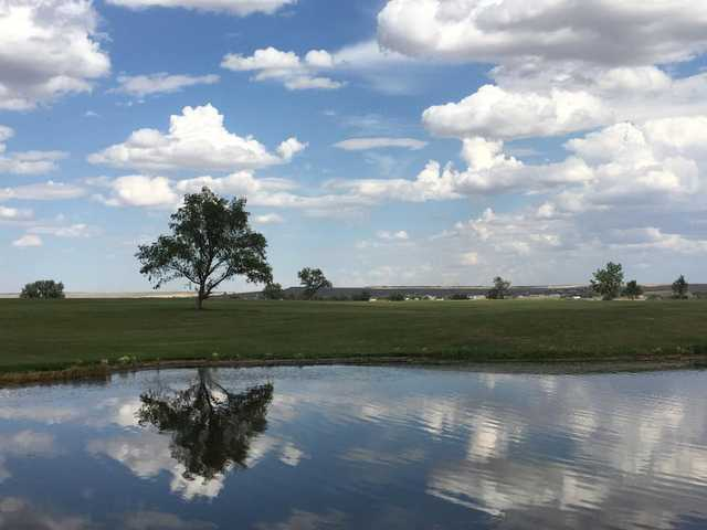 A view over the water from Eagle Ridge Golf Club.