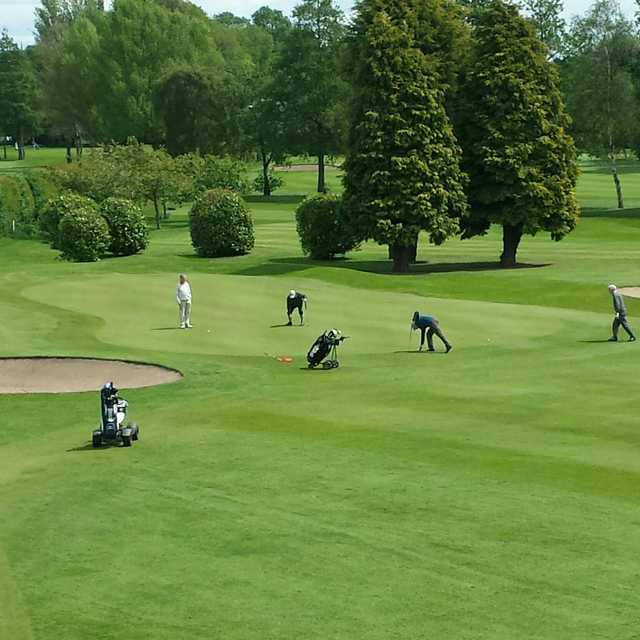 A view from Withington Golf Club.