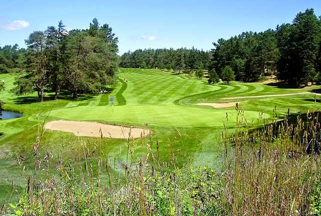 A view of a green at KenWo Country Club.