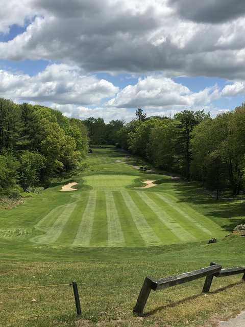 View of the 5th green at The New England Country Club.