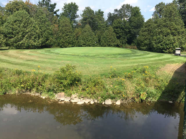 A view of a green at Remington Parkview Golf and Country Club.