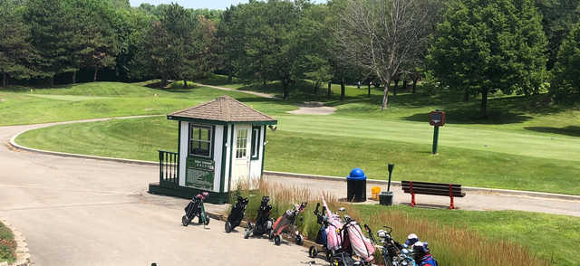 A view of a tee at Chicago Heights Park District.