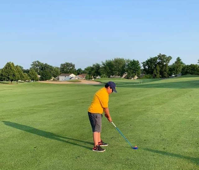 A view of a fairway at Chicago Heights Park District.