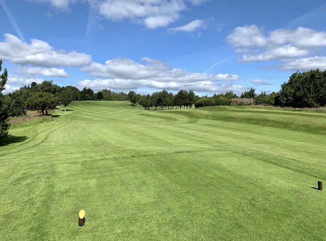 View from a tee at Spa Golf Club
