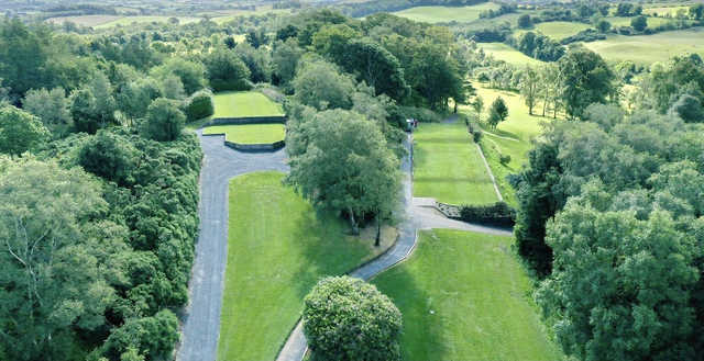 Aerial view from Spa Golf Club