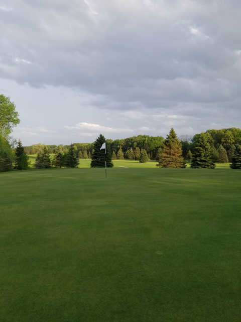 A view from a green at White Lake Country Club.
