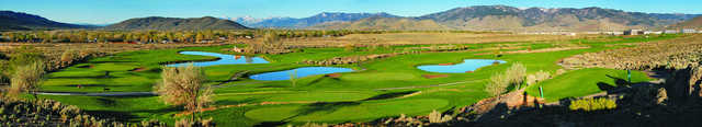 Panoramic view from Eagle Valley Golf Course.