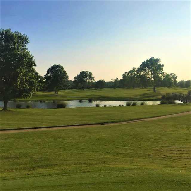 A view from Sapulpa Municipal Golf Course.