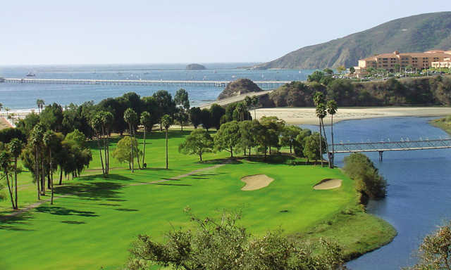 A view from Avila Beach Golf Resort.