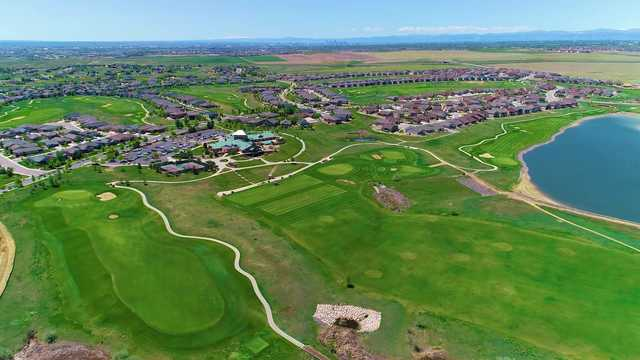 Aerial view of Todd Creek Golf Club