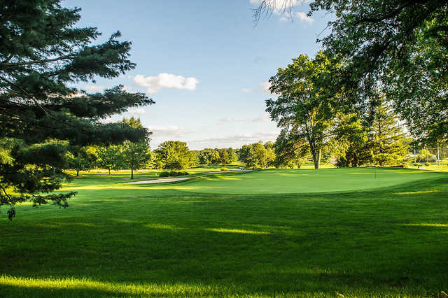 View of a green at Northampton Valley Country Club
