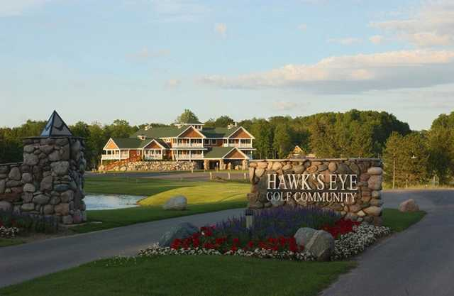 A view from Hawk's Eye Golf Resort