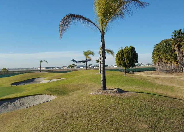 A view of hole #12 at Destroyer from Seal Beach Navy Golf Course.