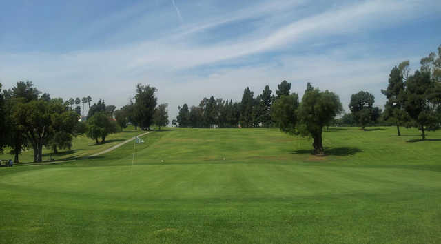 A view of hole #10 at Recreation Park American Golf Club.