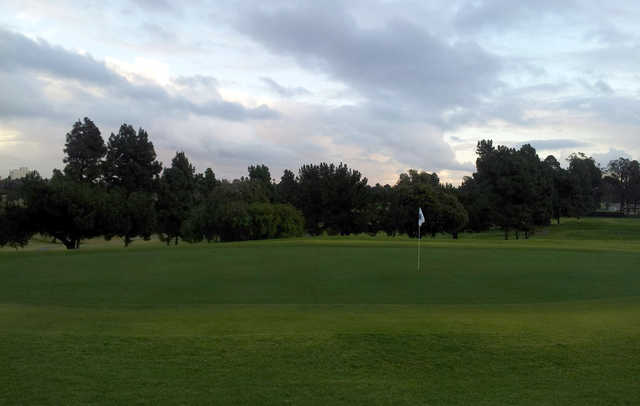 A view of a green at Recreation Park American Golf Club.