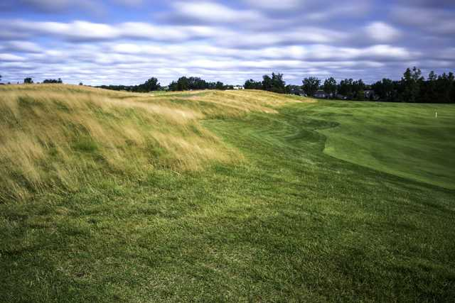 View of the 9th fairway from the Dunes Course at Boulder Pointe Golf Club