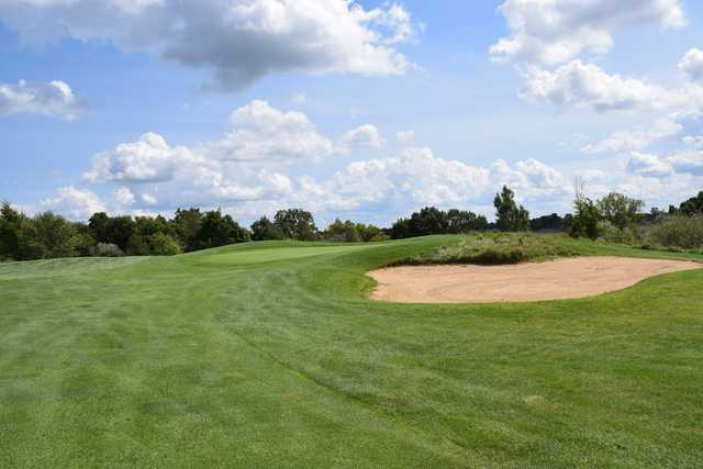 View of the 5th hole at Willow Wood Golf Club.
