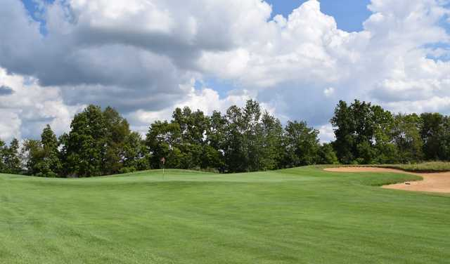 View of the 12th green at Willow Wood Golf Club.