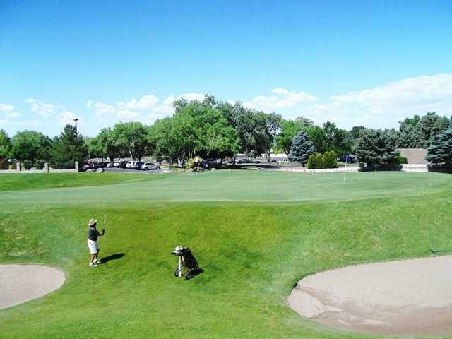 A view of a green at Tanoan Country Club.