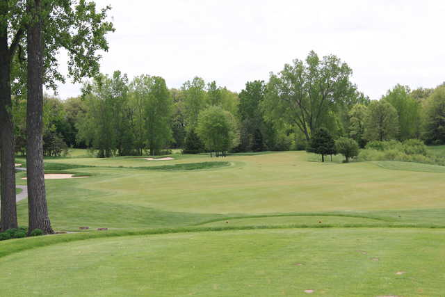 A view from tee #1 at Middle 9 from Hawk Hollow Championship Golf Course.