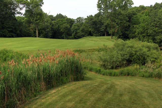 A view of hole #7 at Middle 9 from Hawk Hollow Championship Golf Course.