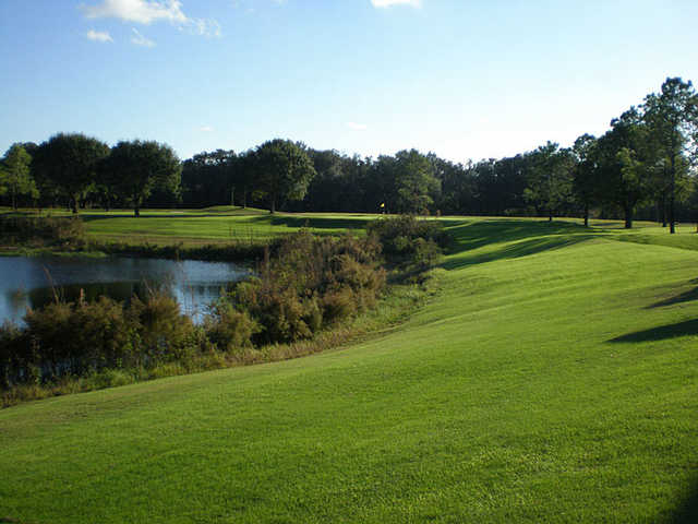 A view of a hole at Scotland Yards Golf Club.