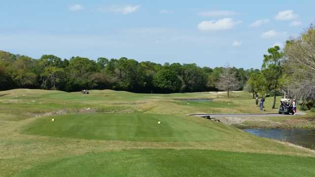 A view from a tee at Legacy Golf Club.