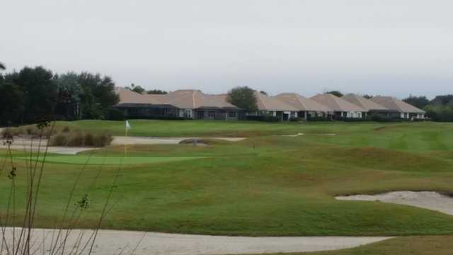 A view of a hole at Legacy Golf Club.