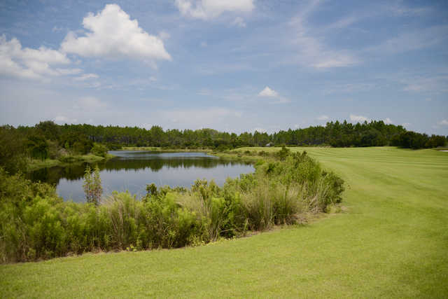 A view from Origins Golf Club.