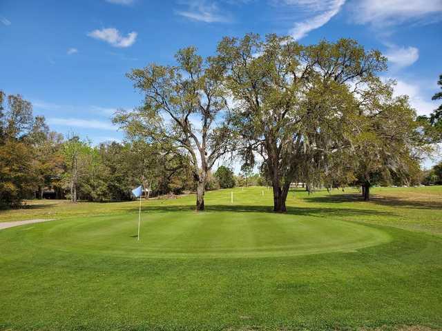 5th green at Rainbow's End Golf Club