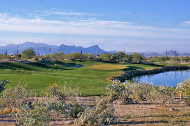 View of the 3rd hole from The Golf Club at Dove Mountain Saguaro Course