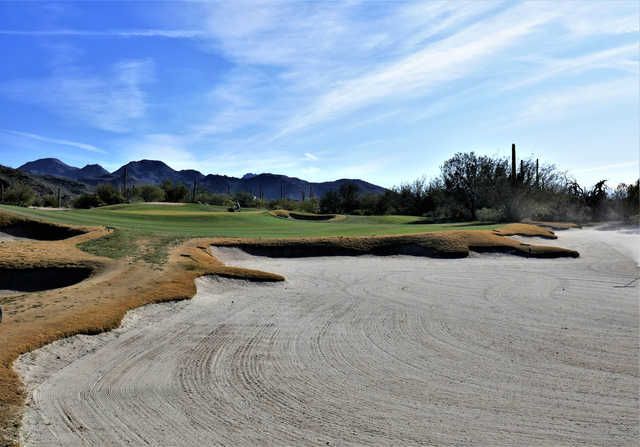 View of the 8th hole from The Golf Club at Dove Mountain Saguaro Course