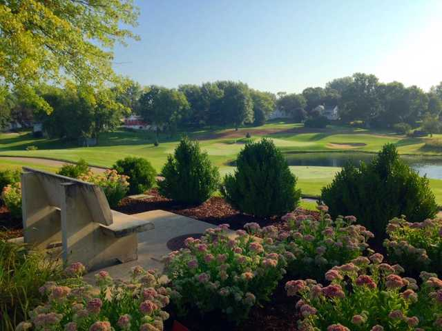 A view of the 5th hole at Stone Creek Golf Club.