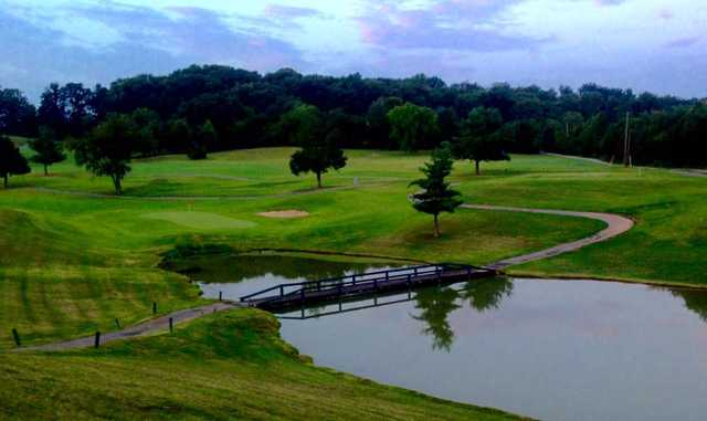 A view from Dandridge Golf & Country Club.
