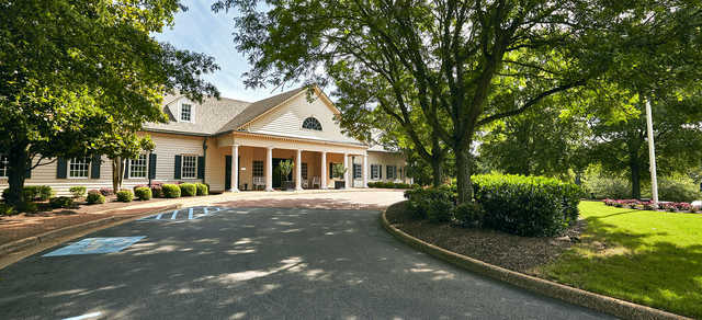 A view of the clubhouse at Ford's Colony Country Club.