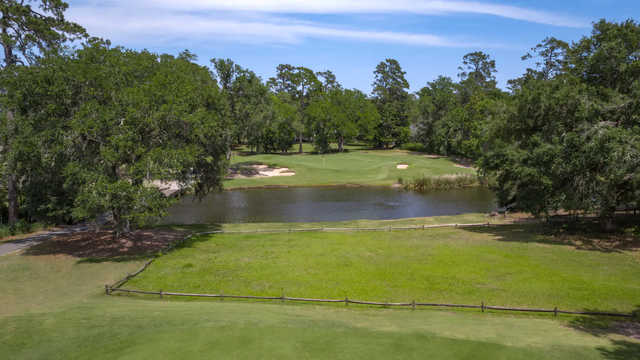 A view of hole #4 at The Heritage Club.