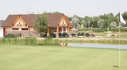 Bella Rosa Golf Course - Clubhouse from 9th Green