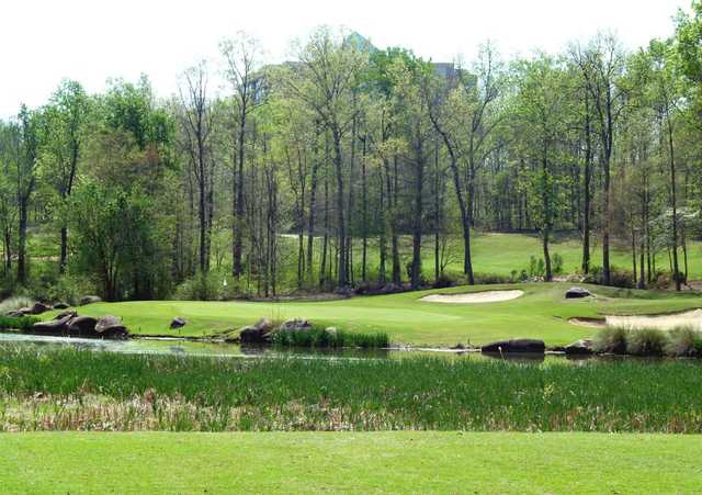 A view of hole #15 from Rocky River GC At Concord.