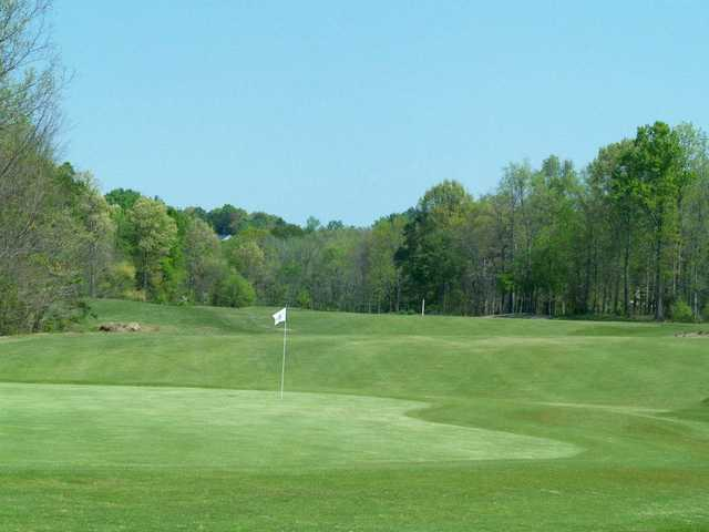 A view of the 8th hole from Rocky River Golf Club at Concord.