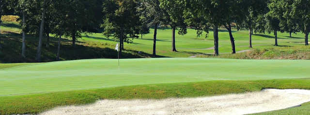 A view of a hole at Cherokee Country Club.
